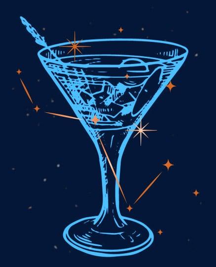 Cocktail Rhum Navi Cassiopée